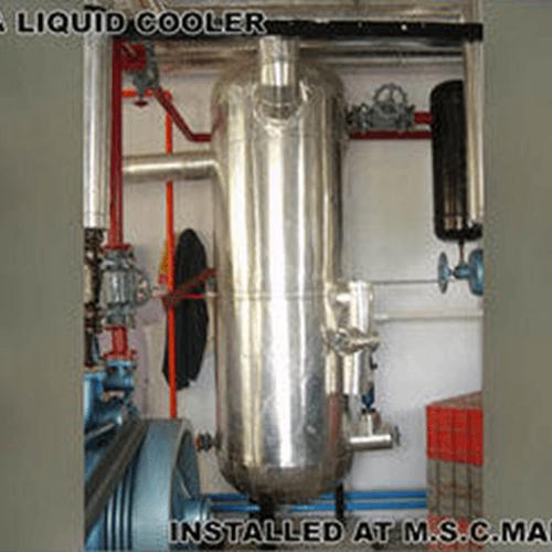 Ammonia Gas And Liquid Cooler