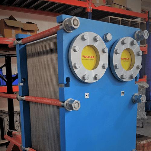 Ammonia Plate Heat Exchangers (Evaporator Application)